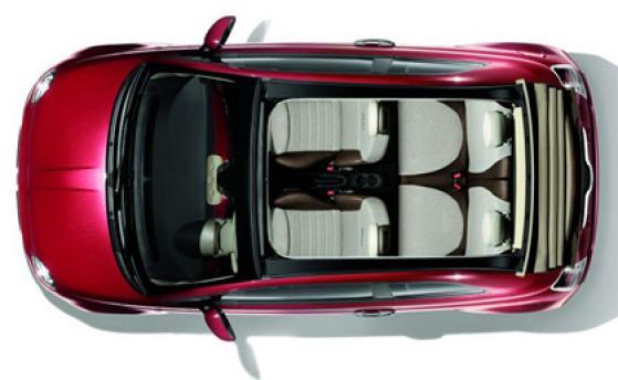Fiat 500 cabrio automatic